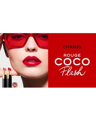 CHANEL Увлажняющая помада-блеск для губ Rouge Coco Flash. Фото 5