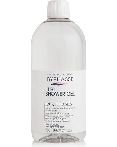 Byphasse Гель для душу Just Shower Gel Back To Basics All Skin Types