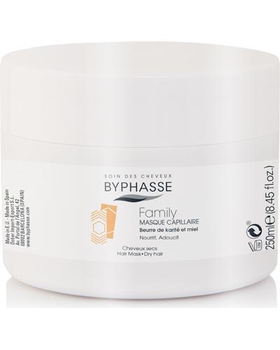 Byphasse Маска для волос для всей семьи Family Hair Mask Shea Butter And Honey