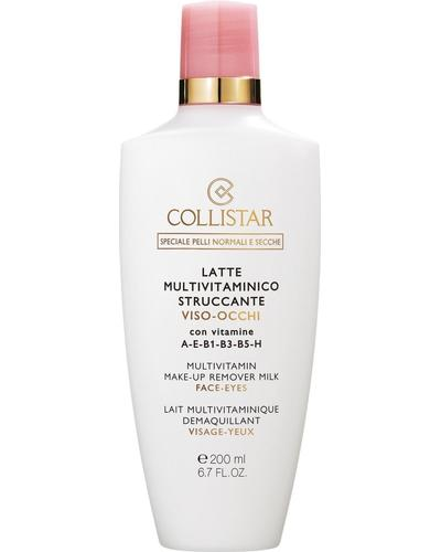 Collistar Молочко для зняття макіяжу Multivitamin Make-Up Remover Milk Face-Eyes