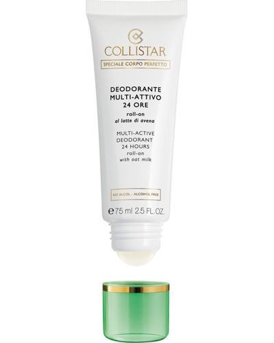Collistar Шариковый дезодорант с овсяным молочком 24H Multi-Active Deodorant 24 Hours Roll-On with Oat Milk - alcohol free