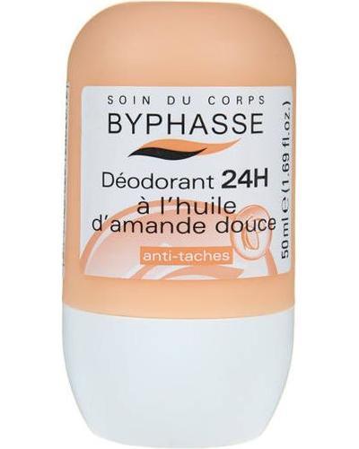 Byphasse Дезодорант роликовый 24h Deodorant Sweet Almond Oil. Фото 4