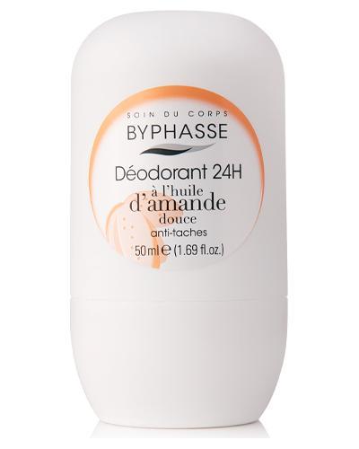 Byphasse Дезодорант роликовий 24h Deodorant Sweet Almond Oil