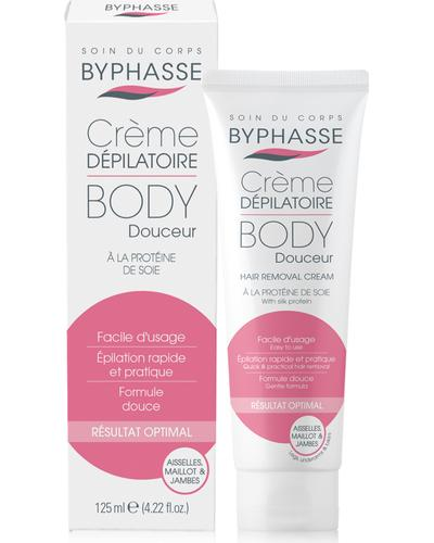 Byphasse Крем для депіляції Hair Removal Cream Silk Extract