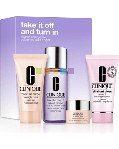 Clinique Take It Off And Turn In