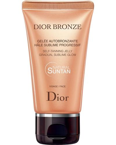 Dior Автозагар с текстурой желе для сияния кожи Bronze Self Tanning Jelly Gradual Glow Face