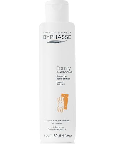 Byphasse Шампунь для всієї родини Family Shampoo Shea Butter And Honey