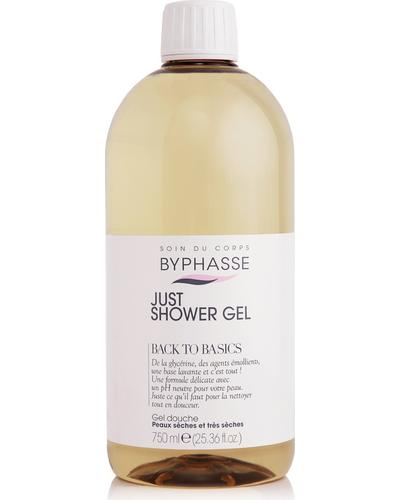 Byphasse Гель для душа Just Shower Gel Back To Basics Dry And Very Dry Skin