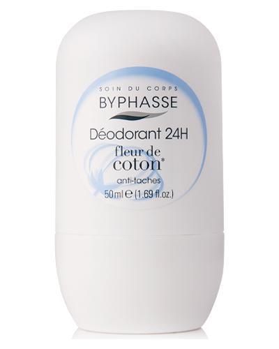 Byphasse Дезодорант роликовый 24h Deodorant Cotton Flower