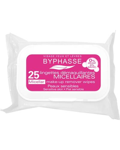 Byphasse Очищуючі серветки Make-up Remover Wipes Micellar Solution Sensitive Skin