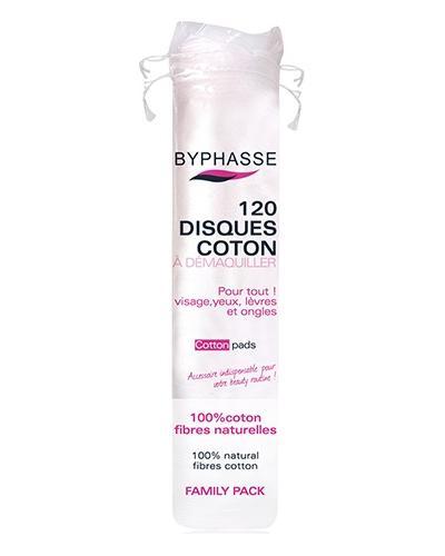 Byphasse Диски для снятия макияжа Cotton Pads