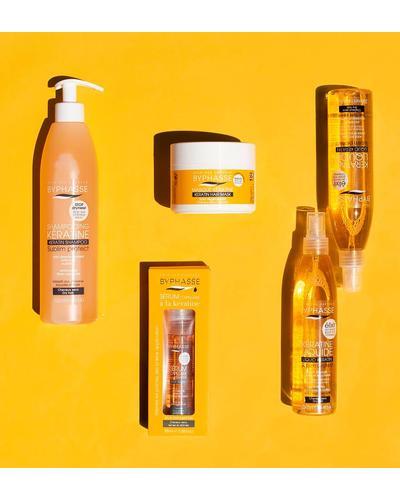Byphasse Защитное средство для сухих и поврежденных волос Liquid Keratine Activ Protect Dry Hair. Фото 5