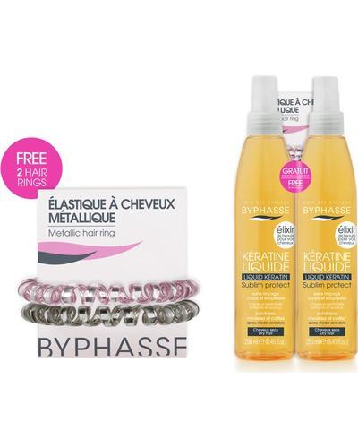 Byphasse Защитный набор для сухих и поврежденных волос Liquid Keratine Activ Protect Dry Hair Set. Фото 1