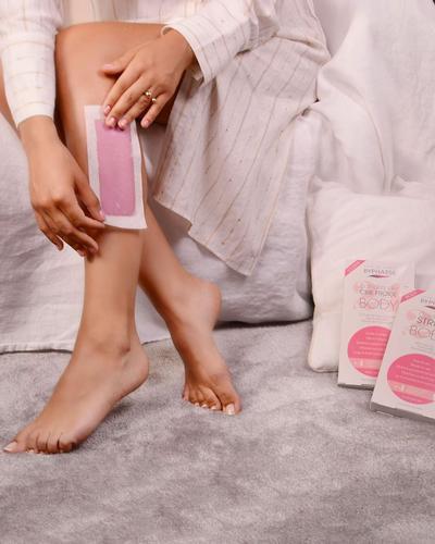 Byphasse Полоски для депиляции ног и тела Cold Wax Strips Legs & Body. Фото 2