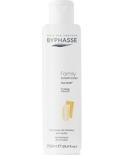 Byphasse Шампунь для всей семьи Family Shampoo With Egg