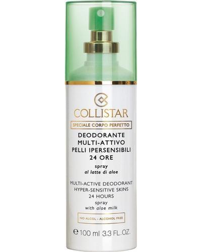 Collistar Дезодорант-спрей с молочком алоэ для чувствительной кожи Multi-Active Deodorant 24 Hours Hyper-sensitive skins spray with aloe milk