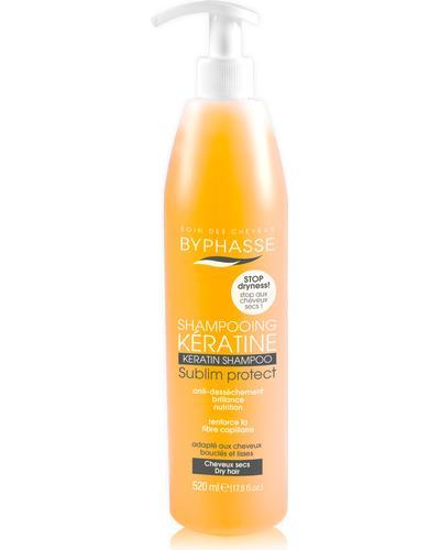 Byphasse Шампунь для сухих волос Keratine Shampoo