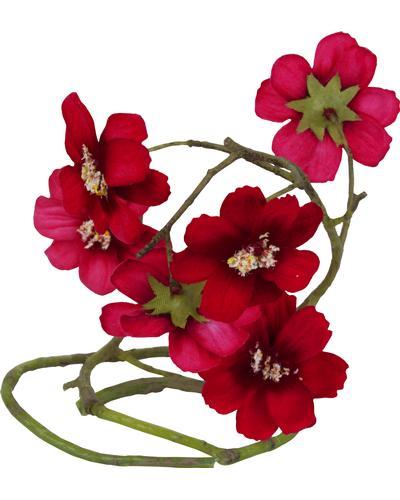 Durance Аксессуар для флакона Гирлянда красных цветов Refill Scented Flower Guirlande Rouge