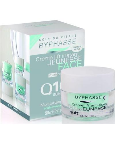 Byphasse Крем для лица с лифтинг эффектом ночной Lift Instant Cream Q10 Night Care. Фото 2