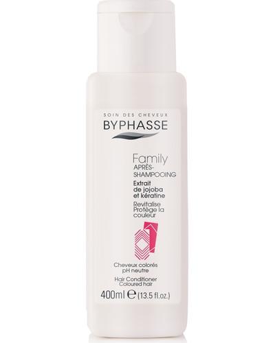 Byphasse Кондиціонер для фарбованого волосся Family Hair Conditioner Jojoba Extracts And Keratin