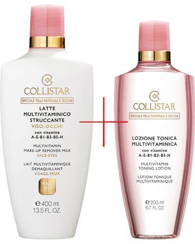 Collistar Подарочный набор Multivitamin Face and Eye Make-up Remover Milk Kit