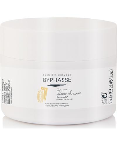 Byphasse Маска для волосся для всієї родини Family Hair Mask With Egg