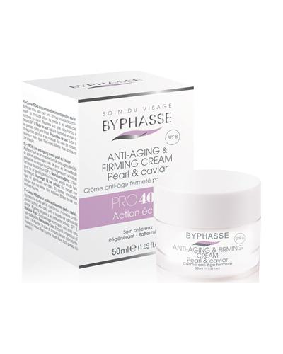 Byphasse Крем антивозрастной 40+ Anti-aging Cream Pro40 Years Pearl And Caviar