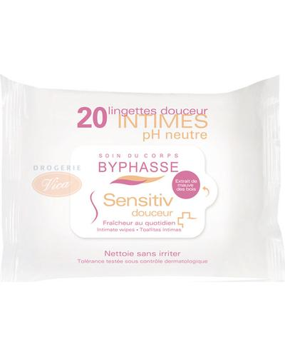 Byphasse Салфетки для интимной гигиены Sensitiv Douceur Intimate Wipes