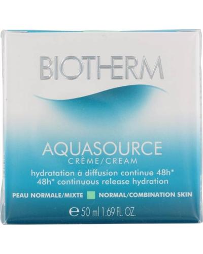 Biotherm Увлажняющий крем для нормальной и комбинированной кожи Aquasource 48H Continuous Release Hydration Cream. Фото 2