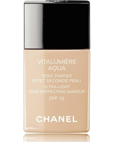 CHANEL Идеальный цвет лица эффект второй кожи естественное сияние SPF 15 Vitalumiere Aqua