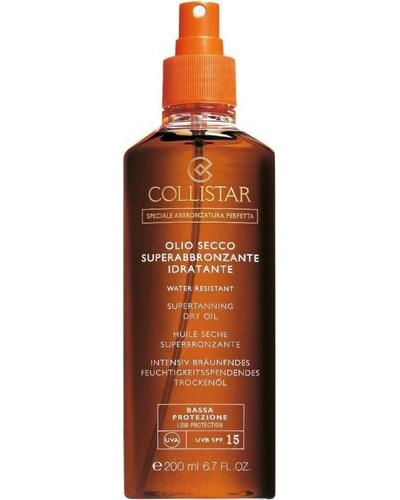 Collistar Сухое масло для загара Supertanning Dry Oil SPF15