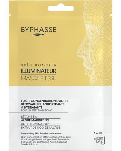 Byphasse Тканинна маска для сяйва шкіри Illuminating Skin Booster Sheet Mask