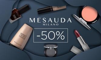 Ціна навпіл: ЗНИЖКА 50% на італійську косметику MESAUDA!