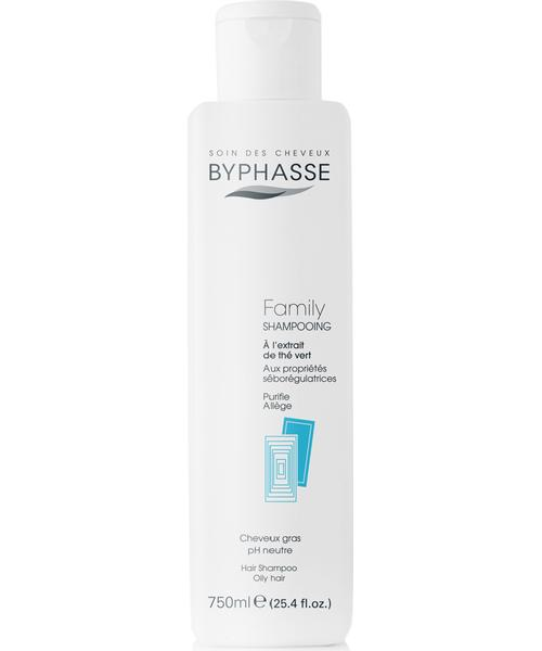 Byphasse Family Shampoo Green Tea Extract