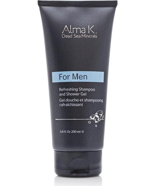 Alma K For Men Refreshing Shampoo and Shower Gel