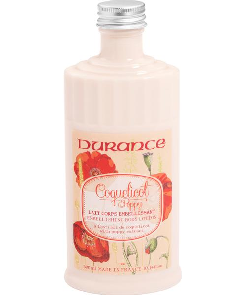 Durance Body Lotion with Poppy Extract