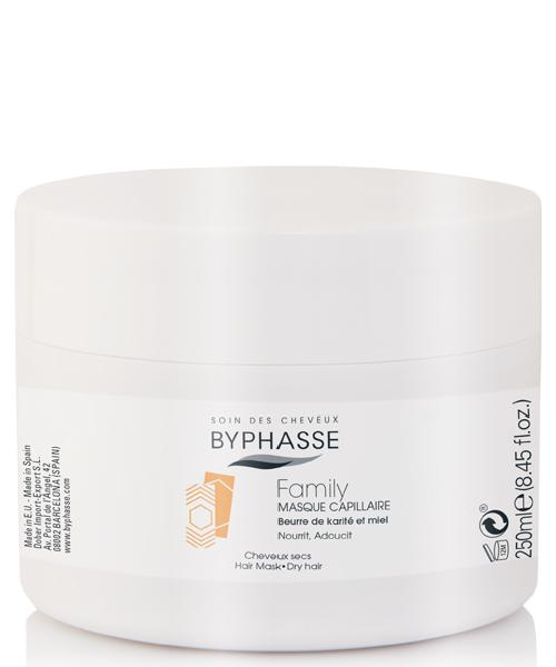 Byphasse Family Hair Mask Shea Butter And Honey
