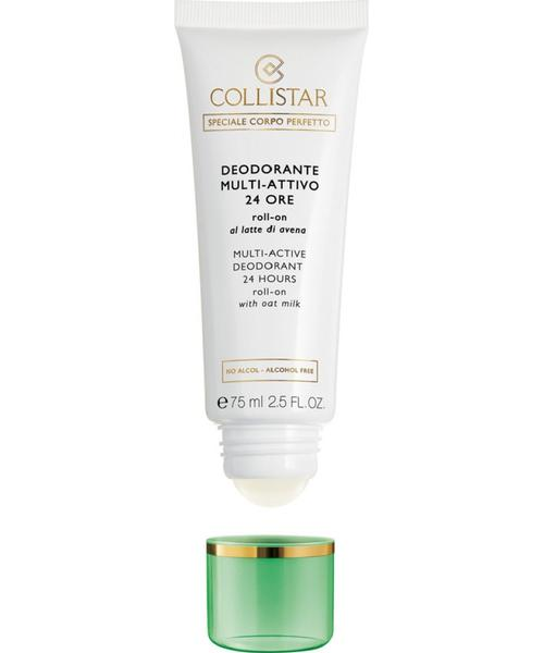 Collistar Multi-Active Deodorant 24 Hours Roll-On with Oat Milk - alcohol free