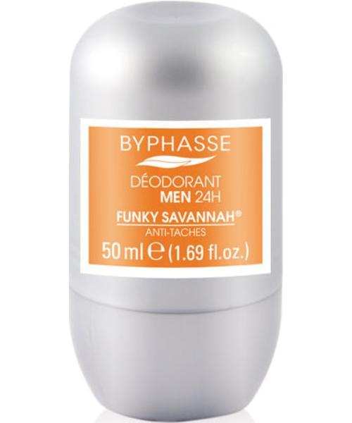 Byphasse 24h Men Deodorant Funky Savannah