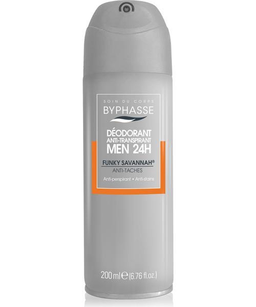 Byphasse Anti-perpirant 24h Men Funky Savannah