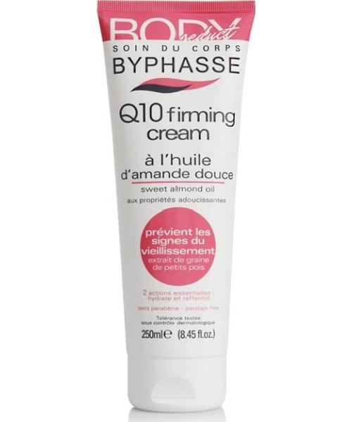 Byphasse Body Seduct Q10 Firming Cream Sweet Almond Oil